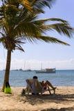Strand op eiland Margarita, Venezuela Royalty-vrije Stock Foto