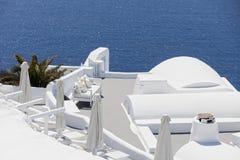 Strand op het dak Royalty-vrije Stock Afbeeldingen