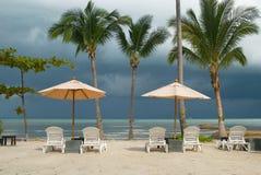 Strand op het eiland Royalty-vrije Stock Fotografie