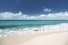 Strand op het eiland Dominicaan van Catalina Stock Foto's