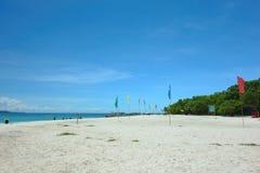 Strand op het Eiland Mantique Royalty-vrije Stock Foto