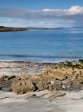 Strand op Inishmore stock foto's