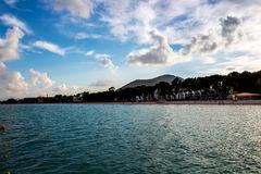 Strand op Mallorca royalty-vrije stock afbeeldingen