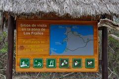 Strand OSs Frailes in Parque Nacional Machalilla, Puerto Lopez Stockbilder