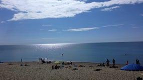Strand Overzees Royalty-vrije Stock Afbeeldingen