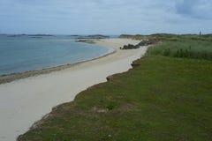 Strand på ön av hermen Arkivbild