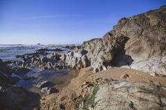 Strand på Atlanticet Ocean royaltyfria foton