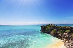 Strand på Bali Royaltyfria Foton