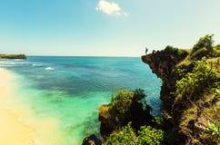 Strand på Bali Royaltyfri Fotografi
