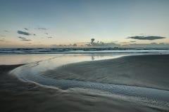 Strand på den södra fältprästen Royaltyfri Fotografi