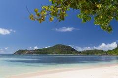 Strand på det indiska havet Royaltyfria Bilder