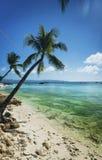 Strand på diniwid i tropiska boracay philippines Fotografering för Bildbyråer