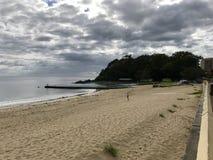 Strand på Forster, Australien Royaltyfri Foto