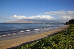 Strand på Kihei Arkivfoto