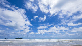 Strand på Koh Chang i Thailand Arkivbild