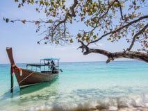 Strand på Koh Rock Island Arkivfoto