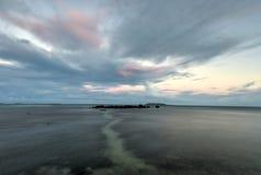 Strand på Las Croabas, Puerto Rico Royaltyfri Bild