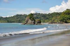 Strand på Manuel Antonio National Park, Costa Rica royaltyfria bilder