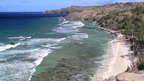 Strand på Maui, Hawaii (landskapet) lager videofilmer