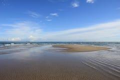 Strand på Nordsjönkust Arkivbilder