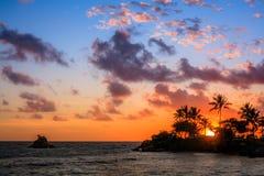 Strand på Noumea, Nya Kaledonien Arkivfoton