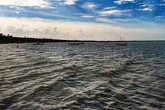 Strand på rameshwaram Indien arkivbild