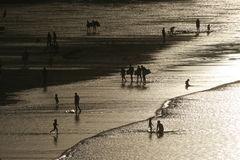 Strand på St Ives Arkivbilder