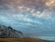 Strand på Vina del Mar Royaltyfria Foton
