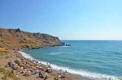 Strand på Gokceada Arkivfoto