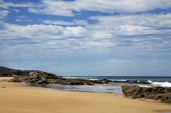 Strand på Lorne, Australien Royaltyfri Fotografi