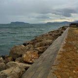 Strand in Palermo royalty-vrije stock fotografie