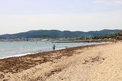 Strand in Palma de Maollorca Stock Afbeeldingen