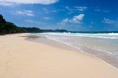 strand panama Royaltyfri Bild