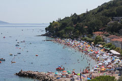 Strand - panoramat beskådar arkivfoton