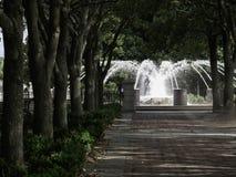 Strand parkerar Charleston South Carolina Arkivbild