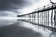 Strand Pasir Putih, trenggalek, Java, Indonesien Lizenzfreies Stockfoto