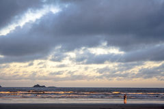 Strand in PeruÃbe Lizenzfreies Stockbild