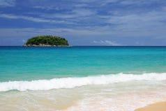 Strand Phuket Thailand Arkivbild