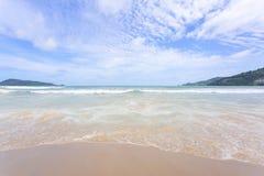 Strand Phuket Thailand för Andaman hav Royaltyfria Bilder