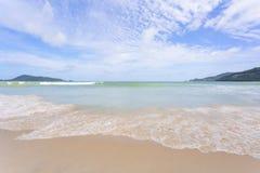 Strand Phuket Thailand för Andaman hav arkivbild