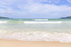 Strand Phuket Thailand för Andaman hav Royaltyfri Foto