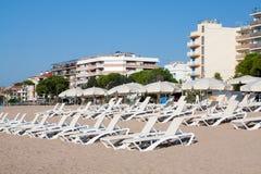 Strand Pineda De Mrz Stockfotos