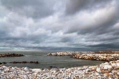 Strand in Pisa, Italië royalty-vrije stock afbeeldingen