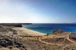 Strand Playa de Mujeres Lizenzfreies Stockfoto