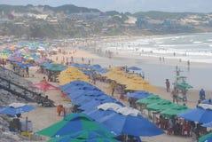 Strand Ponta Negra lizenzfreie stockfotos