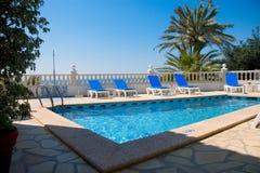 Strand-Pool Stockbilder