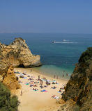 strand portugal Arkivfoto