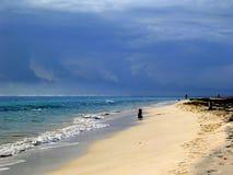 Strand, Puerto Morelos Lizenzfreie Stockbilder
