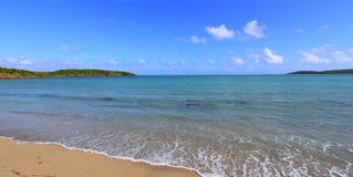 Strand Puerto Rico för sju hav Fotografering för Bildbyråer