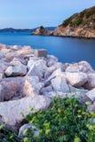 Strand Punta-Ala Toskana Italien stockbilder